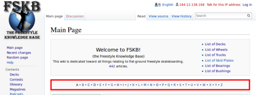 fskb tour the main page the freestyle knowledge base rh freestylekb com tswgps hk main page index